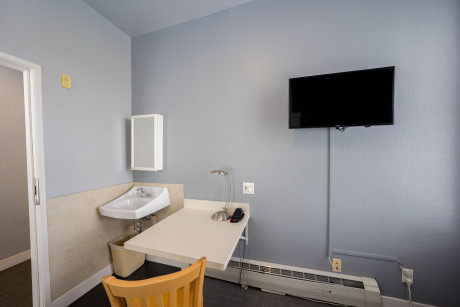 The Urban Hotel - Room Amenities Sink Study Table and Chair TV